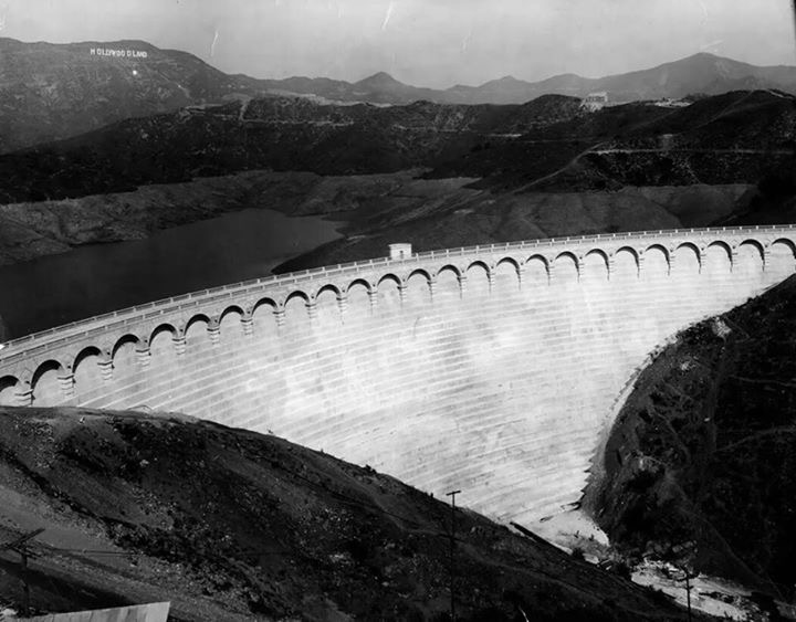 dam and hollywoodland